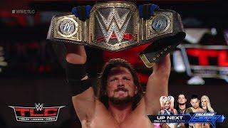 getlinkyoutube.com-WWE TLC 2016 Aj Styles vs Dean Ambrose TLC Match Results! #WWETLC