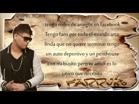 Sin Ti - Farruko (Con Letra) Video Romantic 2013