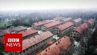 getlinkyoutube.com-Auschwitz: Drone video of Nazi concentration camp