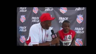 Brandon Miller 800m