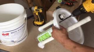 getlinkyoutube.com-How To Build A Pneumatic Ejector (Air Lift) Pump Using a 3 Gallon Bucket