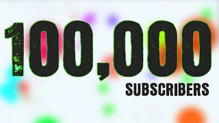 getlinkyoutube.com-100,000 SUBSCRIBERS!!! Agario Best Moments Montage by Sirius