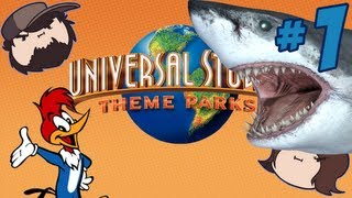 getlinkyoutube.com-Universal Studios Theme Parks Adventure: Guess Who? - PART 1 - Game Grumps