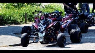 getlinkyoutube.com-World's first Yamaha Raptor with rideheight adjustment part II