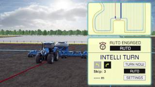New Holland IntelliTurn™ Intelligent Automatic End of Row Turn System