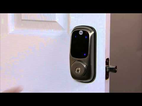 Yale Real Living Touchscreen Deadbolt Programming - Delete User Pin Code 03