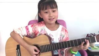 getlinkyoutube.com-Ed Sheeran - Thinking Out Loud - Acoustic Guitar Cover by Gail Sophicha 10 Years. น้องเกล