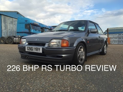 Owning A 226 BHP Escort RS Turbo, Modified Car Review | SCREAMER PIPE!!!