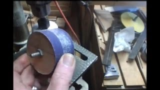 getlinkyoutube.com-2x4 Drum Sander for the drill press