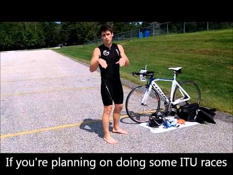 Triathlon swim to bike transition step-by-step