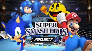 getlinkyoutube.com-SSBPM: Megaman VS Mario VS Pacman VS Sonic (Duels)