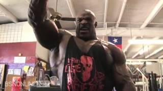 getlinkyoutube.com-Ronnie Coleman Shoulder workout