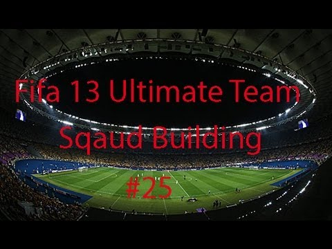 Fifa 13 Ultimate Team Squad Builder #25 - Portugal!