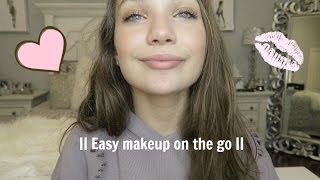 getlinkyoutube.com-Quick and easy makeup on the go  || Maddie Ziegler