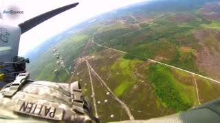 getlinkyoutube.com-U.S. Army Airborne Jumpmaster POV Cam - Jumping from C-130