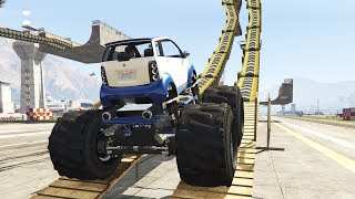 getlinkyoutube.com-PANTO MONSTER TRUCK & MORE (GTA 5 Mods)
