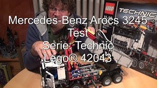 getlinkyoutube.com-LEGO 42043 Mercedes-Benz Arocs 3245 Review (Technic Test deutsch)