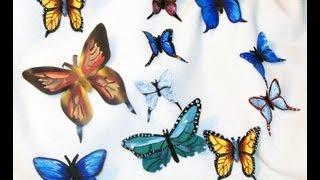 getlinkyoutube.com-como hacer una mariposa con lata de refresco