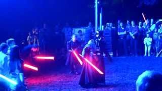 getlinkyoutube.com-Lightsaber Fights | Star Wars Celebration Europe 2