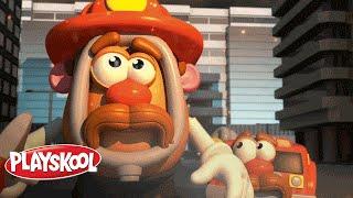 getlinkyoutube.com-Playskool - Little Taters Big Adventures - Mr. Potato Head