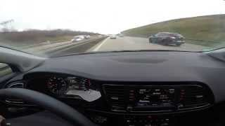 getlinkyoutube.com-Let's Drive: [2015] Seat León 1.4 TSI (92 kW) @ Vmax on German Autobahn (21 km)