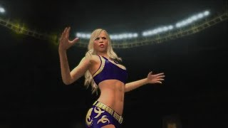 getlinkyoutube.com-WWE 2K14 Summer Rae vs The Bella Twins - A Look at DLC Pack #2