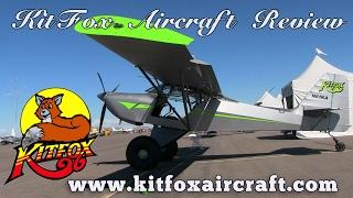 getlinkyoutube.com-KitFox, Kitfox Aircraft Review by Dan Johnson, Copperstate Flyin.
