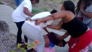 Ghetto fights in the hole