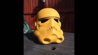 getlinkyoutube.com-Pepakura Stormtrooper helmet build.