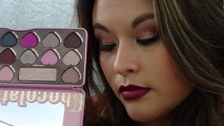 getlinkyoutube.com-*New TOOFACED CHOCOLATE BON BONS EYE SHADOW COLLECTION