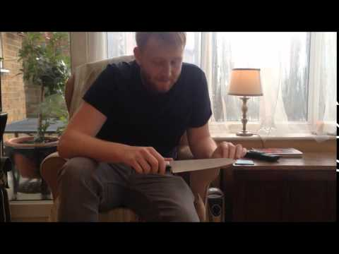 takamura chefs knive 210mm gyuto review by Ginger Saxon