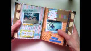 getlinkyoutube.com-Birthday Mini Album Kathy Orta Style
