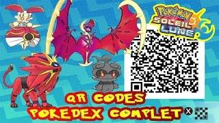 getlinkyoutube.com-TOUS LES QR CODES = POKEDEX COMPLET ALOLA POKEMON SOLEIL & LUNE!