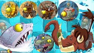 getlinkyoutube.com-Plants vs Zombies 2: All World Zomboss Battle Zombot Tuskmaster 10,000 BC!