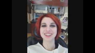 getlinkyoutube.com-Creating My Vampire Fangs ( Dental Prosthectics) Part One