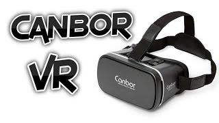 getlinkyoutube.com-Canbor Virtual Reality VR Headset Review