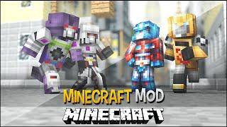Minecraft Mod: TRANSFORMERS ( Vire Robôs e Carros, Naves ) - Transformers Mod