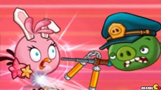 getlinkyoutube.com-Angry Birds Fight! RPG Puzzle - Impossible Level INVADE DR. PIG'S LAB!