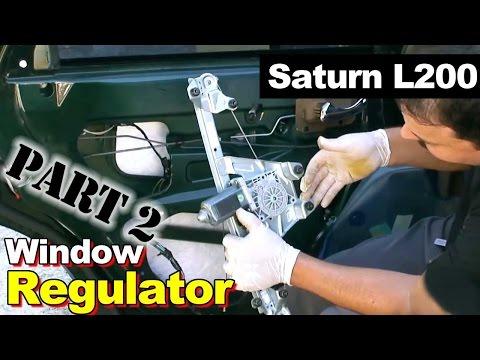 2002 Saturn L200 Window Regulator Repair Part 2