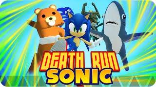getlinkyoutube.com-DEATHRUN SONIC! | Garrys Mod Death-Run con Exo, Macundra, Sarinha y Luh