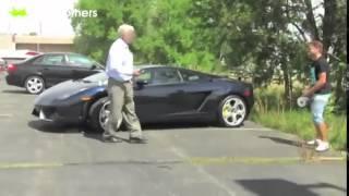 getlinkyoutube.com-Foi brincar com dono de uma Lamborghini e se fudeu VEJA!