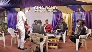 Gina Band Practice Session - Yale Umetenda Bwana