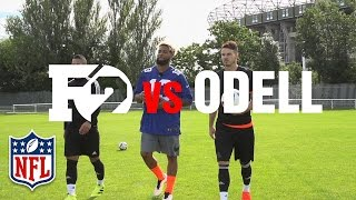 getlinkyoutube.com-Odell Beckham Jr. vs. F2Freestylers | American Football Skills Challenge | NFL