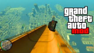 "getlinkyoutube.com-""HUGE RAMP EXPLOSION MOD!"" - GTA Mods & Crazy Stunts! (GTA IV MODDING)"