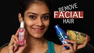 How To Remove Facial Hair Naturally | Skincare Remedy | Home Remedy | DIY Facial Hair Removal | Foxy