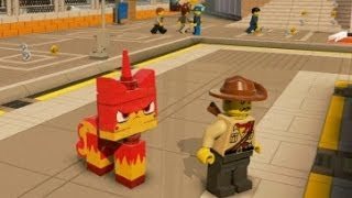 getlinkyoutube.com-LEGO Movie Videogame - 5 Bonus Characters Unlocked (Special Cheat Codes)