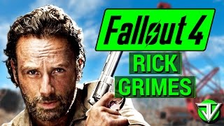 getlinkyoutube.com-FALLOUT 4: The Walking Dead RICK GRIMES Character Build Guide in Fallout 4!