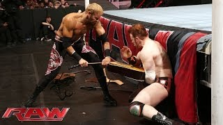 Sheamus vs. Christian: Raw 10-03-2014
