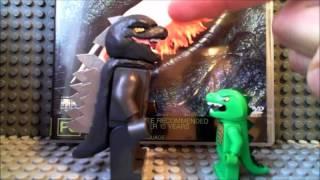 getlinkyoutube.com-Custom LEGO Godzilla 2014 and The Amazing Spider man minifigures