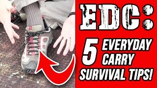getlinkyoutube.com-Survival Tips: 5 Tips on EDC Everyday Carry Survival Gear - Modern Combat and Survival
